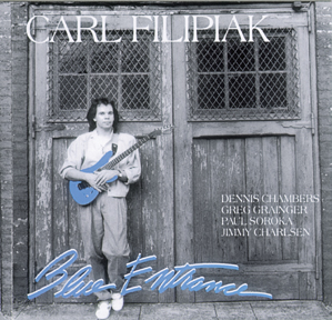 "Carl Filipiak: ""Blue Entrance"""